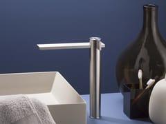 Miscelatore per lavabo da piano monocomando in acciaio inox senza scarico DOT316 | Miscelatore per lavabo da piano - DOT316