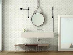 Rivestimento tridimensionale in ceramica effetto pietraDOVER | Struttura Spike White - MARAZZI GROUP