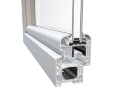 DQG Windows for life, DQG 70 Finestra a taglio termico in alluminio e PVC