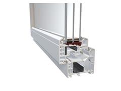 Finestra in PVC con triplo vetroDQG 85 - DIQUIGIOVANNI SRL