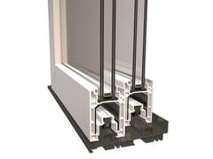 Diquigiovanni, DQG S96 Finestra scorrevole in PVC con doppio vetro
