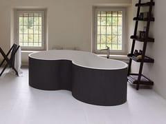 Vasca da bagno a 2 posti centro stanza in Solid SurfaceDR | Vasca da bagno centro stanza - AGAPE