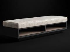 Panca contenitore in metallo e tessutoDRAGONFLY | Panca - CIAC-EXPORT