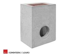 Elemento e canale di drenaggio in calcestruzzo DRAINAGE BOX -