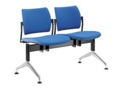 Seduta su barra a pavimento in tessutoDREAM 140-2-N1 - LD SEATING