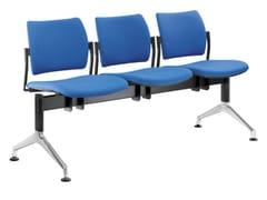 Seduta su barra a pavimento in tessutoDREAM 140-3-N1 - LD SEATING