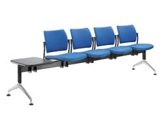 Seduta su barra a pavimento in tessutoDREAM 140-4T-N1 - LD SEATING