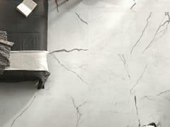 Pavimento in gres porcellanato effetto marmo DREAMING BIANCO STATUARIO - Dreaming