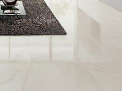 Pavimento in gres porcellanato effetto marmo DREAMING CRYSTAL WHITE - Dreaming