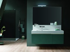 Mobile lavabo sospeso con specchio DRESS   Mobile lavabo - Dress