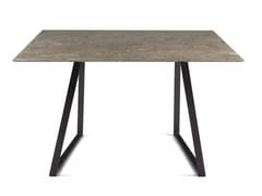 Tavolo quadrato in marmo DRITTO | Tavolo quadrato - Dritto