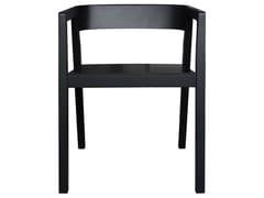 Poltrona in legno di frassino con braccioliDRIVE | Sedia con braccioli - 4PLUS1 ITALIA