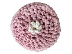 Pouf rotondo in lana merinoDROPS - PANAPUFA