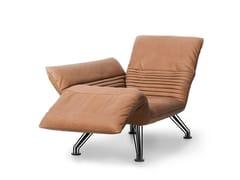 Poltrona / chaise longue in pelleDS-142 | Chaise longue - DE SEDE