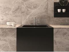 Lavello da cucina sottopianoDUAL MOUNT 5124 - GALASSIA