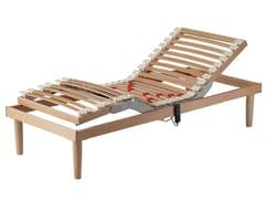 Rete a doghe elettrica regolabile in legnoDUAL TECHNO - MANIFATTURA FALOMO