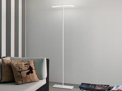 Lampada da terra a LED in PMMA e metalloDUBLIGHT_FL - LINEA LIGHT GROUP