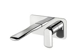 Miscelatore per lavabo a muro con piastra DYNAMICA 88 - 8810108 - Dynamica 88