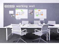 SPÄH designed acoustic, Designed acoustic pinnboard Pannello acustico a parete in PET