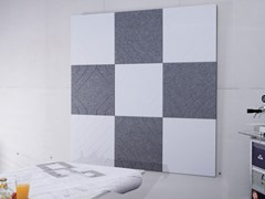 SPÄH designed acoustic, Designed acoustic tiles Pannello acustico a parete in PET