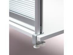 Pannello divisorio da scrivania in alluminioPannello divisorio da scrivania - PLANNING SISPLAMO