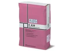 FASSA, E 439 Massetto autolivellante a base anidrite