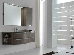 Sistema bagno componibileE.LY INCLINATO - COMPOSIZIONE 15 - ARCOM