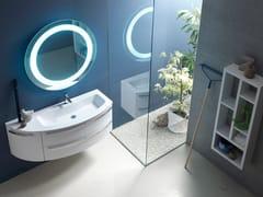 Sistema bagno componibileE.LY INCLINATO - COMPOSIZIONE 26 - ARCOM