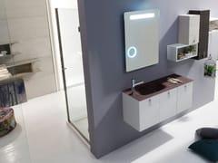 Sistema bagno componibileE.LY INCLINATO - COMPOSIZIONE 34 - ARCOM
