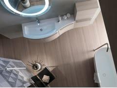 Sistema bagno componibileE.LY INCLINATO - COMPOSIZIONE 35 - ARCOM