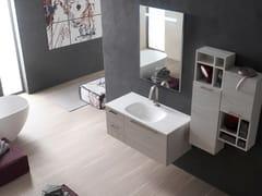 Sistema bagno componibileE.LY INCLINATO - COMPOSIZIONE 41 - ARCOM