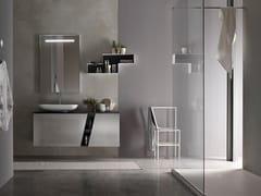 Sistema bagno componibileE.LY INCLINATO - COMPOSIZIONE 80 - ARCOM