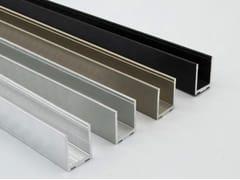 Profilo a scatto per pareti divisorie in vetroE-WALL - MGT INDUSTRIES