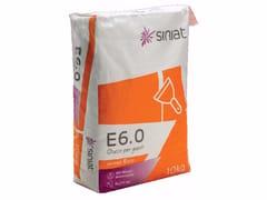 Siniat, E6.0 Stucco riempitivo in polvere a presa rapida per giunti