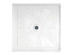 IDRAL, EASY 15200 Piatto doccia filo pavimento in vetroresina