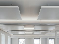 Pannello acustico a sospensione in metalloEASY CANOPY - ARMSTRONG BUILDING PRODUCTS