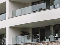 Parapetto in alluminio e vetro per finestre e balconiEASY GLASS® PRIME - Q-RAILING ITALIA