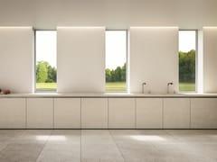 Cucina lineare con maniglie integrateEASY THE MINIMIMAL - ELMAR