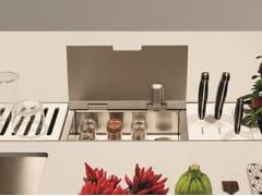 Accessorio per canale attrezzato EASYRACK KITCHEN FLAT | Portaspezie - EasyRack Kitchen Flat