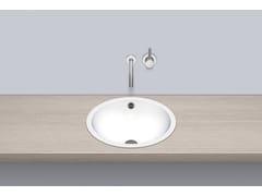 Lavabo da incasso soprapiano rotondo singolo in metallo in stile modernoEB.K450 - ALAPE