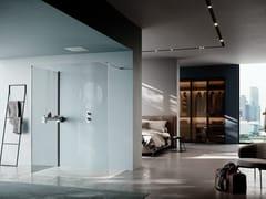 Box doccia con parete fissa per combinazioniOPEN   Box doccia - SAMO