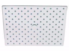 Soffione doccia a pioggia in ottone con sistema anticalcare ECHO | Soffione doccia - Echo