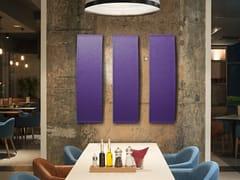 Pannello monomaterico fonoassorbente termoformato a muro ECOARCH CX - CV | Pannello decorativo acustico - ECOrange