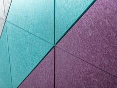 Rivestimento fonoassorbente in PETECHOBOARD® - ECHOJAZZ