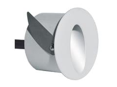 Segnapasso a LED a parete in alluminio per esterniECLIPS R - ADHARA