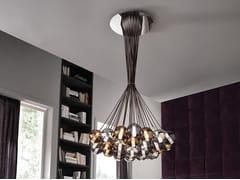 Lampada a sospensione in vetro borosilicato metallizzatoECLISSE | Lampada a sospensione - CANGINI & TUCCI