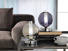 Lampada da tavolo in vetro borosilicato metallizzatoECLISSE | Lampada da tavolo - CANGINI & TUCCI