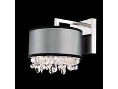 Lampada da parete con braccio fisso con cristalli Swarovski® ECLYPTIX | Lampada da parete con braccio fisso - Eclyptix