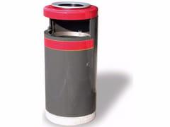 A.U.ESSE, ECO 130 CON MAXIPOSACENERE Portarifiuti per esterni con portacenere