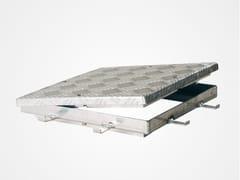 Chiusino a pavimento in acciaio zincato o inoxECO - FF SYSTEMS